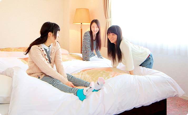 お友達3人と同じ部屋・・楽しくなる事間違いなし!ワイワイしたい方必見!